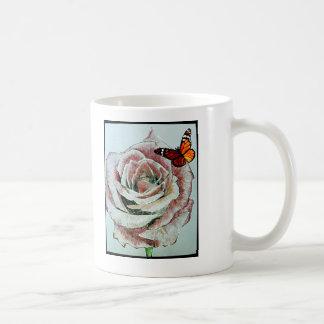 Eine Rose. Tasse