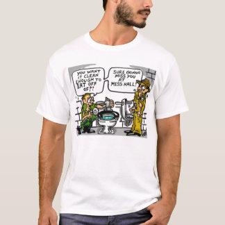 """""""Eine saubere Latrinen-"""" T - Shirt"""