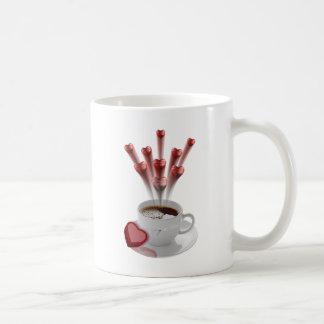 Eine Schale heiße Liebe Kaffeetasse