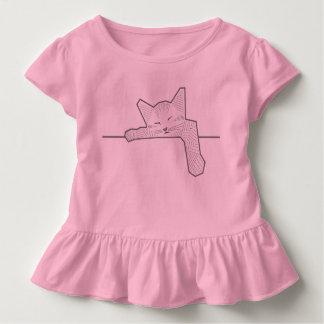 Eine Schlafenkatze Kleinkind T-shirt