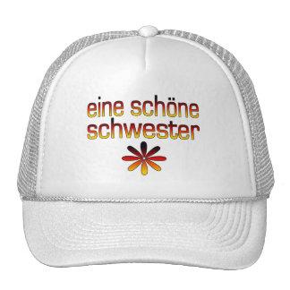 Eine Schöne Schwester Deutschland Flaggen-Farben Kappe