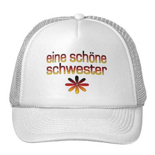 Eine Schöne Schwester Deutschland Flaggen-Farben Tuckercaps