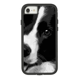 Eine Schwarzweiss-Border-Collie Case-Mate Tough Extreme iPhone 8/7 Hülle