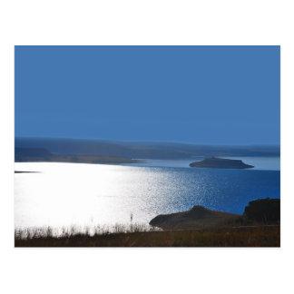 Eine Seeufer-Geschichte Postkarte