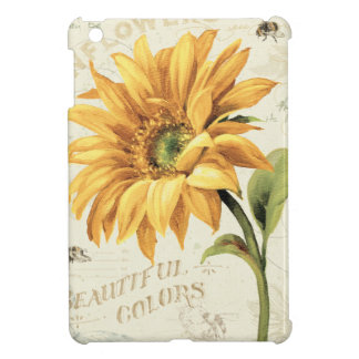 Eine Sonnenblume in voller Blüte iPad Mini Hülle