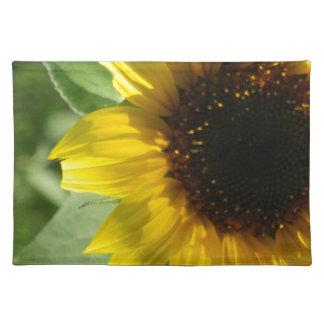 Eine Sonnenblume Tischset
