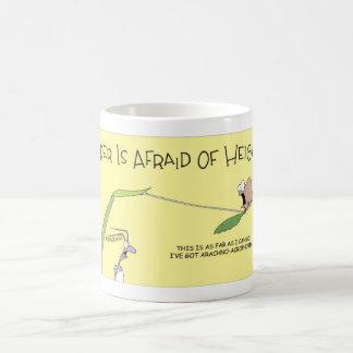 Eine Spinnenphobie Kaffeetasse