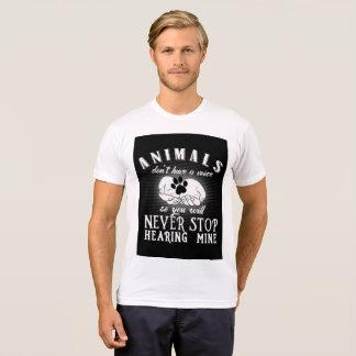 Eine Stimme für Tiere T-Shirt