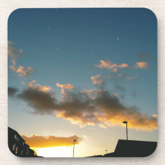 Eine Straße gekrönt mit Sternen Untersetzer