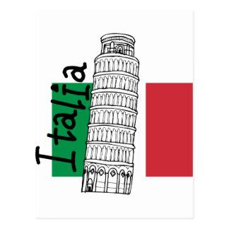 Eine Touch von Italien Postkarte