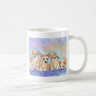 Eine Umarmung von Corgis Kaffeetasse