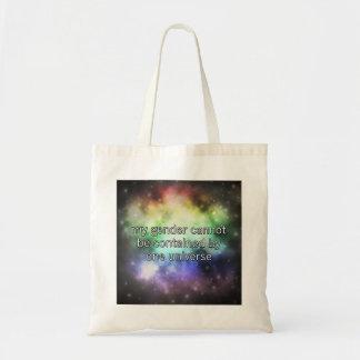 Eine Universum-Tasche Tragetasche