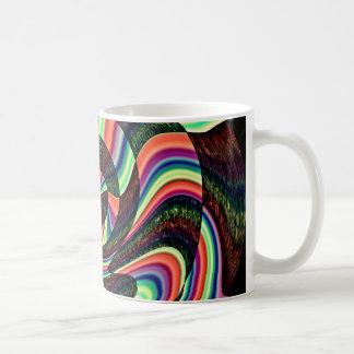 Eine verdrehte SinnesTasse Kaffeetasse
