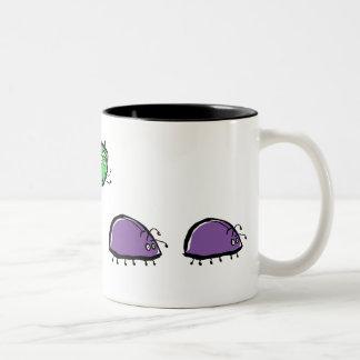 eine verrückte Wanze Kaffeetassen