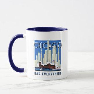 Eine Vintage Chicago-Aktualisierung Tasse