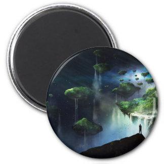 Eine Vision des Fegefeuers Runder Magnet 5,7 Cm
