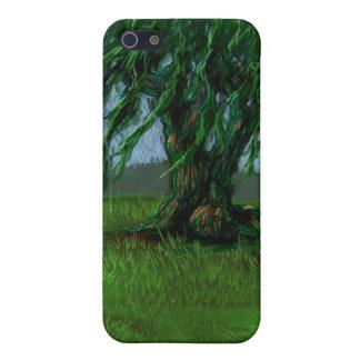 Eine Weide in einem Tal iPhone 5 Cover