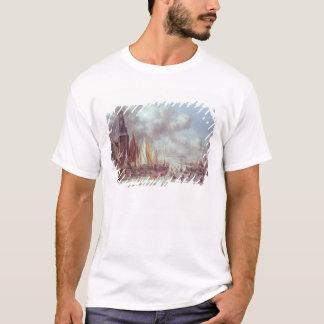 Eine Winter-Szene in Amsterdam T-Shirt