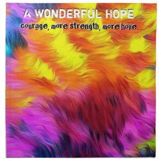 Eine wunderbare Hoffnung Serviette