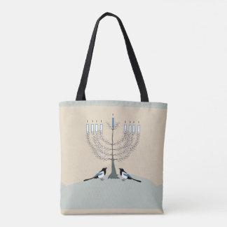 Eine Wüste glückliche Chanukka-Tasche Tasche