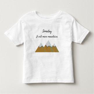 Eines Tages bewege ich Berge - den T - Shirt der