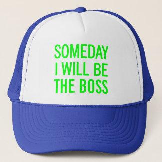 Eines Tages bin ich der Chef Truckerkappe