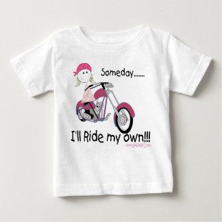 Eines Tages reite ich meine Selbst (Säuglings-T - Shirts