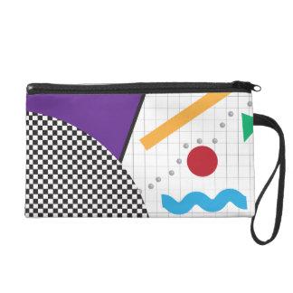 Einfach 80er Bagette Wristlet Handtasche