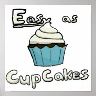 Einfach als Kuchen-Plakat Poster