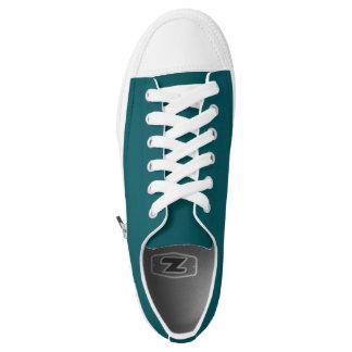 Einfach aquamarine niedrige Spitzenschuhe Niedrig-geschnittene Sneaker
