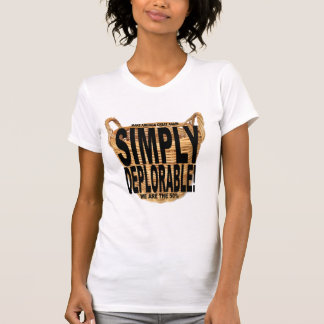 Einfach bedauernswertes T-Stück T-Shirt