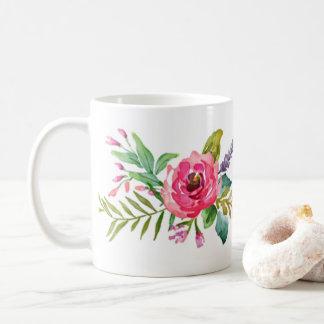 Einfach BlumenTasse Kaffeetasse