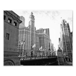 Einfach Chicago Fotodruck