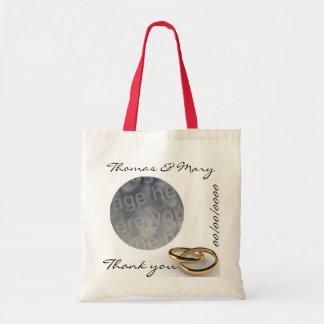 Einfach danke Gastgeschenk Hochzeit Budget Stoffbeutel