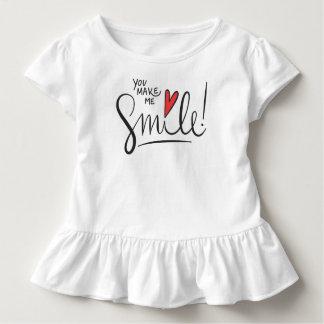 Einfach dennoch hübsch lassen Sie mich lächeln | Kleinkind T-shirt