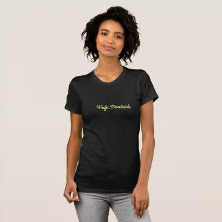 Einfach-elegante Spitze des hohen Standards T-Shirt