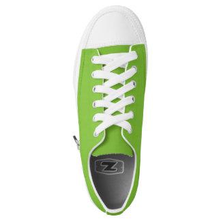 Einfach grüne niedrige Spitzenschuhe Niedrig-geschnittene Sneaker