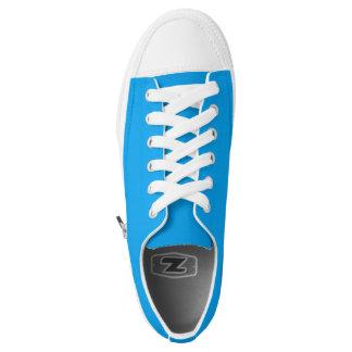 Einfach Himmel-Blau Niedrig-geschnittene Sneaker