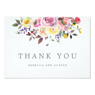 Einfach hübsche Hochzeit danken Ihnen Karten Karte