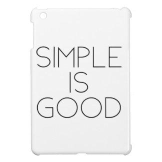 Einfach ist gut iPad mini hülle