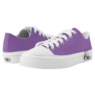 Einfach lila niedrige Spitzenschuhe Niedrig-geschnittene Sneaker