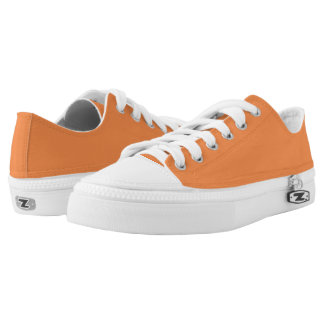 Einfach orange niedrige Spitzenschuhe Niedrig-geschnittene Sneaker