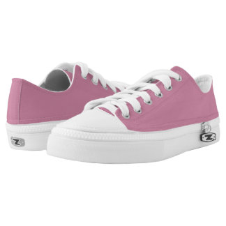 Einfach rosa niedrige Spitzenschuhe Niedrig-geschnittene Sneaker
