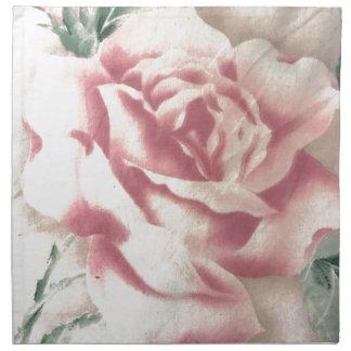 Einfach Rosen Stoffserviette