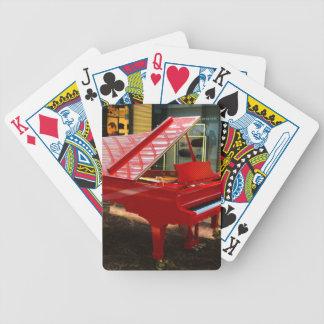 Einfach rot: Flügel Bicycle Spielkarten