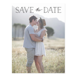 einfach Save the Date, wunderlich Save the Date Postkarte