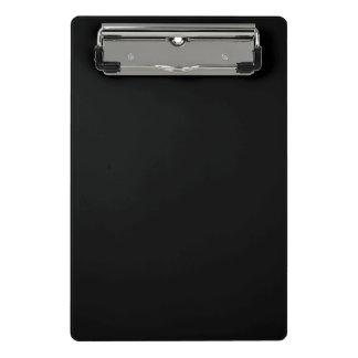 Einfach schwarzer Normallack fertigen es besonders Mini Klemmbrett