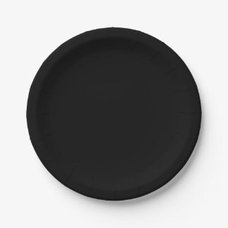 Einfach schwarzer Normallack fertigen es besonders Pappteller