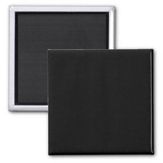 Einfach schwarzer Normallack fertigen es besonders Quadratischer Magnet