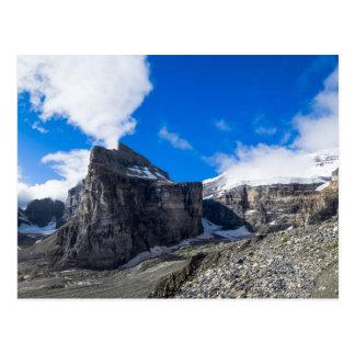 Einfach von sechs Gletschern Lake Louise Alberta Postkarte